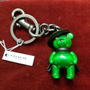 COACH Grn. Wicked Witch Key Chain NWT Wizard of Oz
